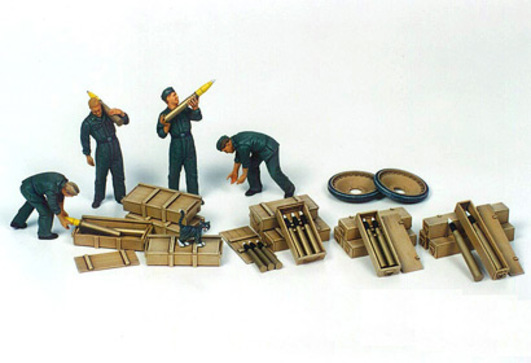 WWII Fig.-Set Panzer Ladetruppe (4) 1:35