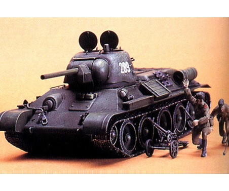WWII Rus. KPz. T34/76 ChTZ V.43 (2) 1:35