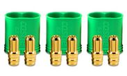 Castle 6.5mm Goldsteckverbindung, Stecker
