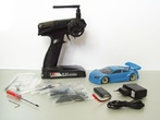 JR128-R01 2WD RTR-RC-Car-Set / GT01-blue-