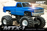 MTX-1 Monstertruck Brushless 1/10 RTR