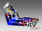 Swift II Airbrush Storm-Design 810 mm