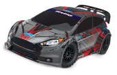 TRAXXAS Ford Fiesta ST Rally TQi Brushed