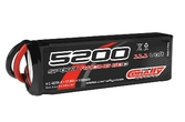 Team Corally - Sport Racing 60C - 5200 mAh - 11.1V 3S - Competition Li-Po Battery Pack - Semi-Soft case - 10AWG Wire - XT-90