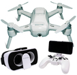 "Yuneec Breeze RTF ""my flying 4K-UHD-camera"" 1x Akku inkl. FPV Brille und Controller"