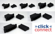 click connect Multipin-Verbinder 2 Pins 0,2 - 0,5 mm²